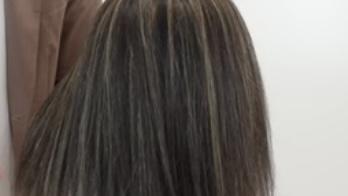 【ブリーチマニュアル】白髪ぼかしハイライト